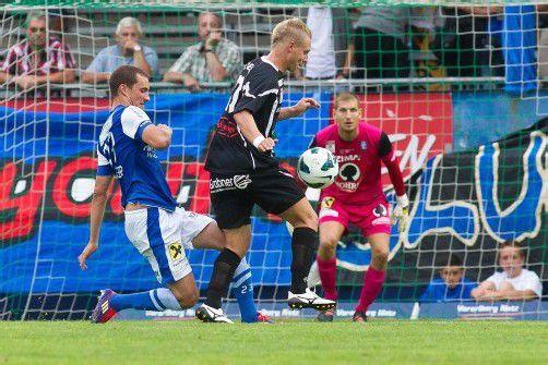 Christian Haselberger (l.) und Co. wollen heute in Hartberg drei Punkte entführen. Foto: steurer