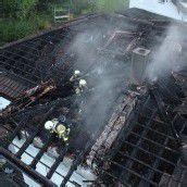 Dachstuhlbrand in Zwischenwasser