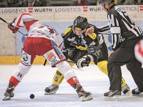 Danny Bois (r.) wird sich gegen Salzburg besonders reinhängen – der Dornbirn-Kapitän spielte zwei Saisonen für das Page-Team. Foto: gepa