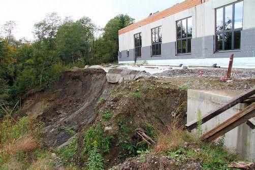 Das Gebäude ist momentan nicht gefährdet. Foto: vol.at/pletsch