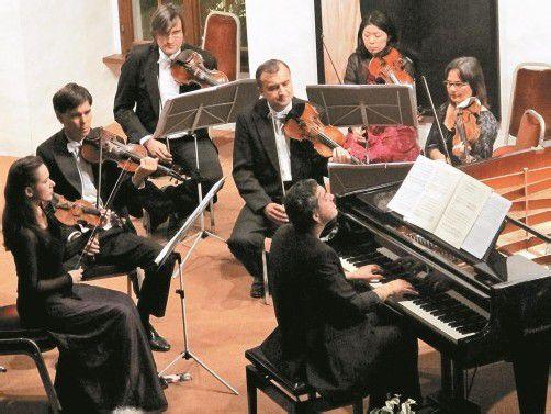 """Das Hohenemser Kammerorchester """"Arpeggione"""" fordert sein Publikum heraus und hat dennoch Zulauf. Foto: JU"""