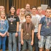 Zehn Medaillen für den Ländle-Nachwuchs