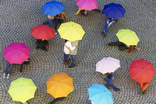 """Das Musikgymnasium Feldkirch präsentiert mit """"Singin' in the Rain"""" sein zehntes Herbstmusical. foto: musikgymnasium feldkirch/andreas domjanic"""