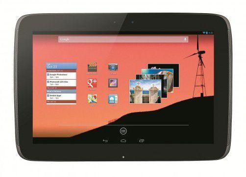 Das Nexus 10 von Google soll für 399 Euro in den Handel kommen. Das verlangt Apple für sein eineinhalb Jahre altes iPad 2. Foto: Google