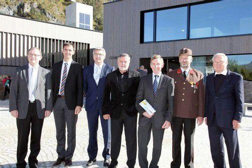 Das neue Gemeindezentrum Lorüns wurde gestern feierlich eröffnet. Foto: Meznar