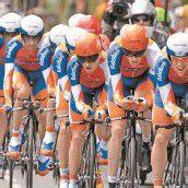 Lance Armstrong reißt alle mit