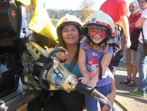 Der Aktionsnachmittag der Rankweiler Feuerwehr begeisterte sowohl Kinder als auch Erwachsene. Foto: fep