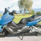 Bayerischer Roller mit Motorrad-Qualitäten