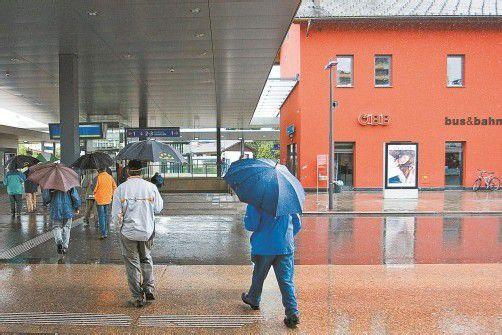 Der Dornbirner Bahnhof gibt immer wieder Anlass zu Kritik. Foto: VN/ps