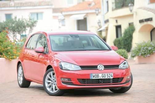 Der Golf ist seit 1978 ohne Unterbrechung das meistgekaufte Auto Österreichs. Daran will die 7. Generation anschließen. Fotos: UP