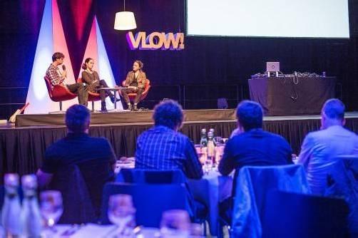 Der Kommunikations- und Designkongress VLOW! begeisterte die rund 400 Teilnehmer. Foto: pZwei