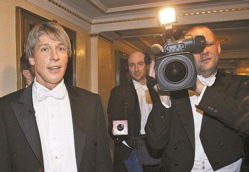 Der ORF will Heinzl angeblich auch nicht mehr für den Opernball. Foto: APA