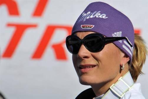 Der Rücktritt ist geplant: Maria Höfl-Riesch. Foto: ap