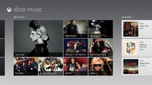 Der neue Microsoft-Musikdienst ist seit gestern auf der Xbox verfügbar, ab 26. Oktober dann auch auf anderen Plattformen. Foto: ap