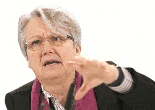 Deutsche Bildungsministerin Annette Schavan: Ein Gutachter stellte in ihrer Doktorarbeit Mängel auf 60 von 351 Seiten fest. Foto: DAPD