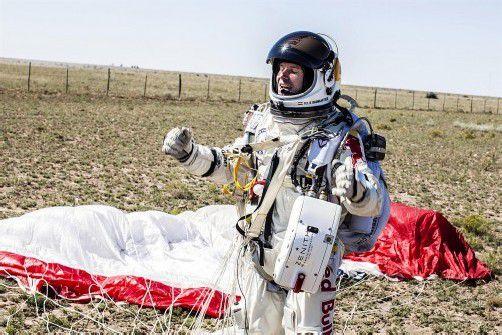 Die Bilder von Felix Baumgartners Sprung und der geglückten Landung gingen in den vergangenen Tagen um die Welt. Foto: APA