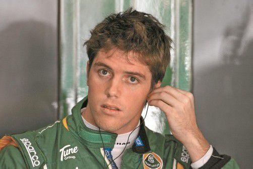 Die Nummer zwei der GP2-Serie darf den Toro Rosso testen: Luiz Razia. Foto: gepa