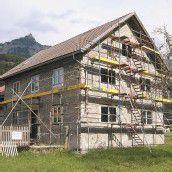 Baufortschritt beim Pfarrhof Stallehr sichtbar