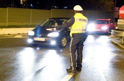Die Polizei kontrollierte insgesamt 250 Fahrzeuge. Foto: archiv/steurer