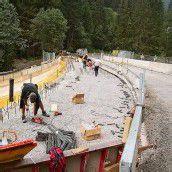 Brückenbau in Gargellen in vollem Gang