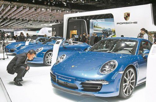 Die Volkswagen-Tochtermarke profitiert von einem günstigen Zinssatz. Foto: AP