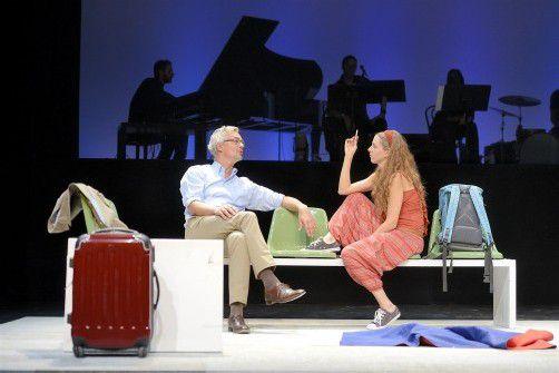 """Die Vorarlberger Koproduktion """"Lampedusa"""" – der Text stammt von Wolfgang Mörth, die Musik von David Helbock – kommt heute im Theater Kosmos in Bregenz zur Uraufführung. foto: vn/stiplovsek"""