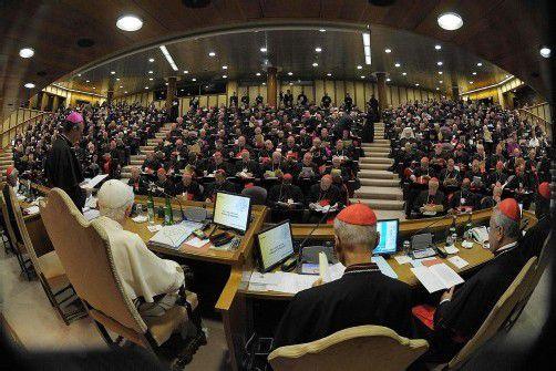 Die derzeitige Synode sucht auch den Dialog mit Ungläubigen. Foto: EPA