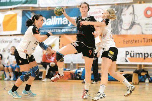 Die ehemalige Feldkircherin Beate Kuhn erzielte in ihrem ersten Derby im SSV-Dornbirn-Trikot insgesamt sieben Treffer. Foto: vn/Lerch