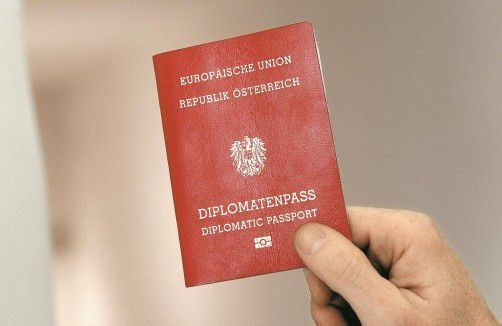 "Diplomatenpass: Künftig nur noch für ""Aktive"". Foto: APA"