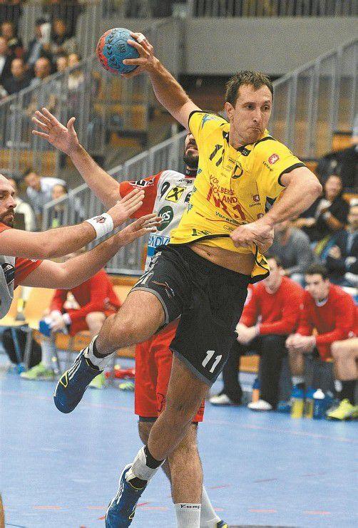 Drasko Mrvaljevic ist einer der Hoffnungsträger bei Bregenz, um wieder zu einer Macht in der Handball-Liga Austria zu werden. Foto: VN/stiplovsek