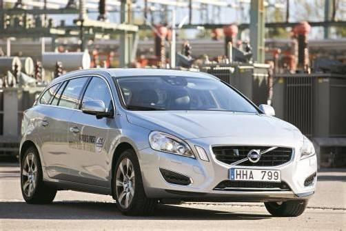 Drei Autos in einem: Der Volvo V60 Plug-in-Hybrid ist E-Auto, Hybrid oder Performance-Kombi. Die ersten Autos kommen Anfang 2013 ins Ländle. Foto: VN/Hartinger