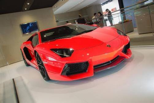 Effizienzmaßnahmen beim Lamborghini Aventador LP 700-4.