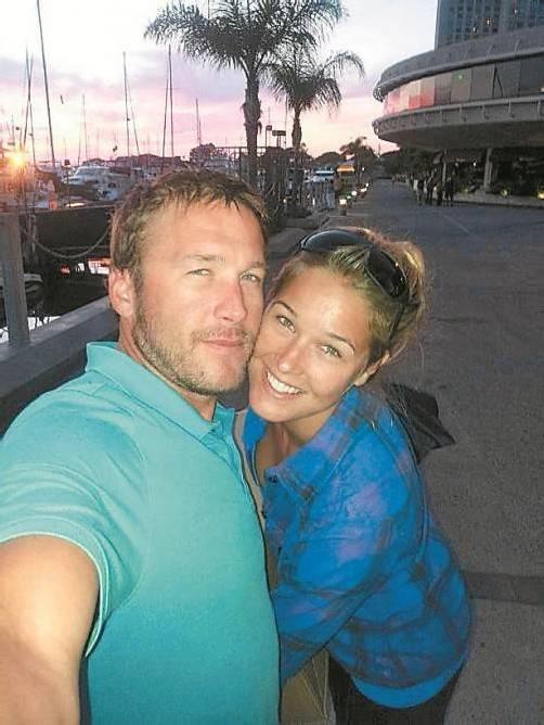 Ein glückliches Paar: Bode Miller und Morgan Beck. Foto: BM/Twitter