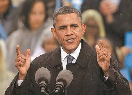 Erzielte Spendenrekord: Barack Obama. Foto: Reuters