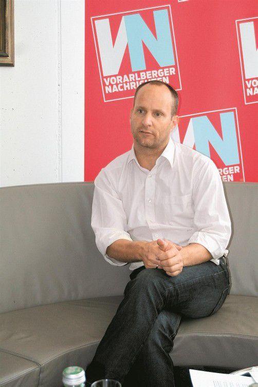 Ex-Landesschulsprecher Matthias Strolz. Foto: VN/Burtscher
