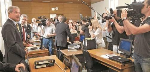 """Ex-ÖVP-Chef Martinz wurde gestern verurteilt. Jörg Haider ist nach seinem Tod im Jahr 2008 """"nicht mehr verfolgbar"""", so der Richter. Foto: APA"""