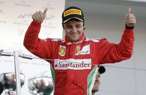 Felipe Massa kam mit Rang zwei Ferrari-Vertrag näher. Foto: dapd