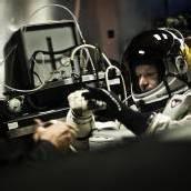 Felix Baumgartner bereit für seinen Stratos-Sprung