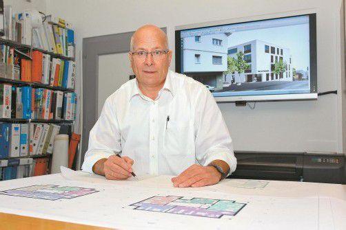 Franz Hassler hat sogar schon in Brasilien ein Bauprojekt realisiert.  fotos. bernd hofmeister
