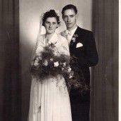 Gaben sich vor 60 Jahren das Eheversprechen.