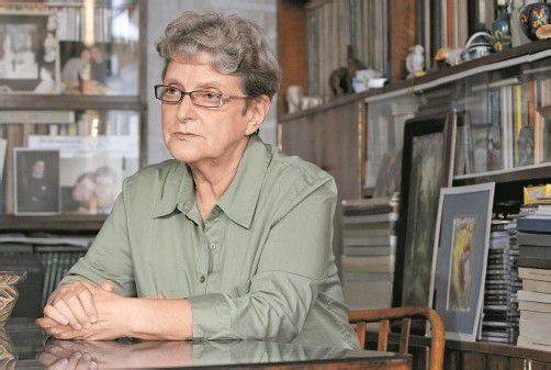 Gannuschkina gilt als Favoritin für den Friedensnobelpreis. Foto: RTS