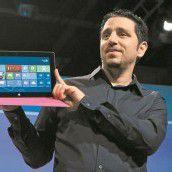 Microsoft mit neuem Tablet und Windows 8