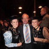 Gertraud Mohr (l.) mit Michael Kaufmann und Elisabeth Mohr.
