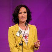 Grünen-Chefin Glawischnig mit 94 Prozent bestätigt
