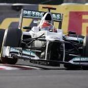 Schumacher-Crash im Training