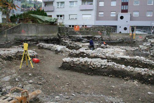 Grabungsfeld auf Schlossbräu-Areal wurde wieder geschlossen. Foto: ha
