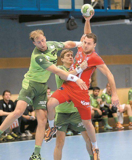 Hard-Spielmacher Marko Krsmancic ist im Moment schwer zu stoppen und erzielte in Wien neun Treffer. Foto: diener