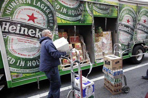 Heineken bringt in Westeuropa weniger Bier an den Mann als prognostiziert. Foto: ap