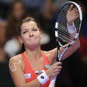 Radwanska hat es im Halbfinale sehr schwer