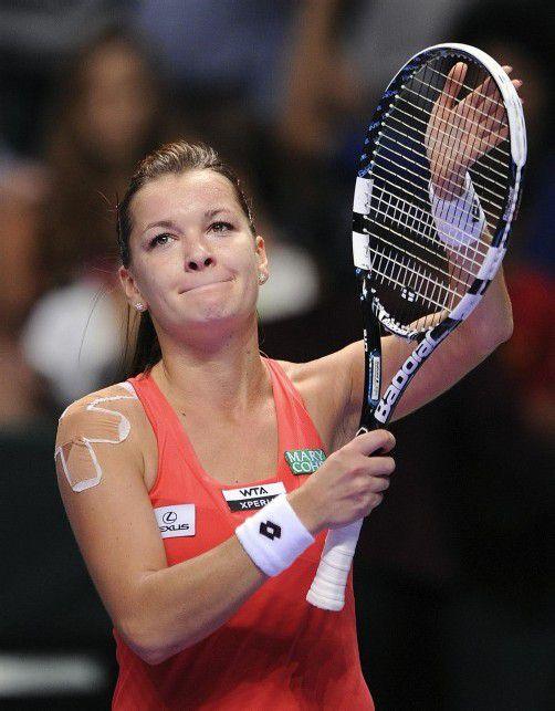 Heute gegen Serena Williams: Agnieszka Radwanska. Foto: ap